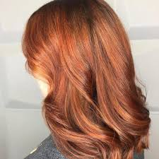 Red hair tones